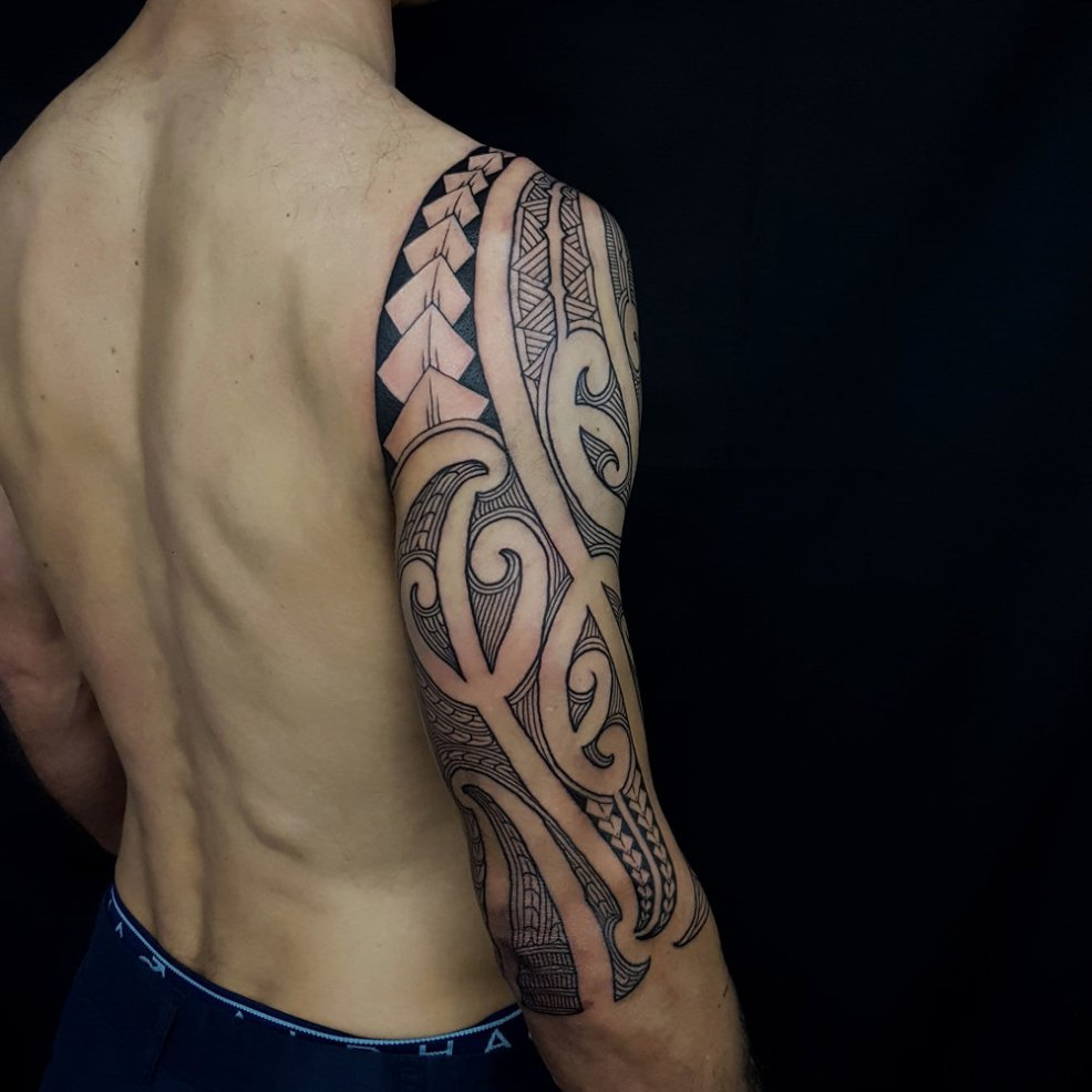 тату маори 100 фото мужские и женские эскизы значение