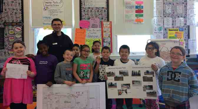 "<span class=""entry-title-primary"">Learning lessons in community decision making</span> <span class=""entry-subtitle"">Norwood Grade 3 students participate in Norwood Square Park project</span>"
