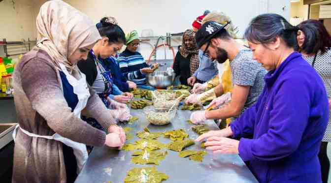 """<span class=""""entry-title-primary"""">Learning to cook food across cultures</span> <span class=""""entry-subtitle"""">Global Cooking is a social and learning opportunity</span>"""