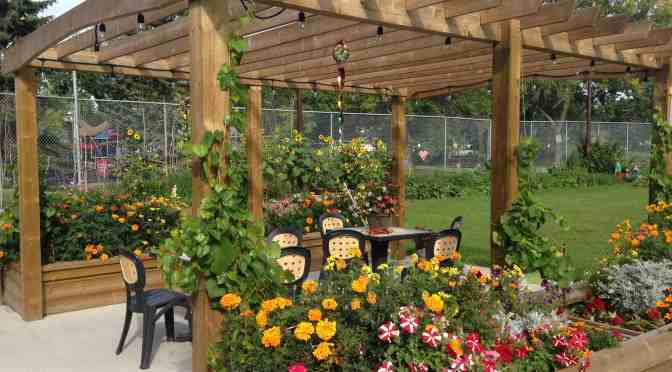 """<span class=""""entry-title-primary"""">Beautifying a community one garden at a time</span> <span class=""""entry-subtitle"""">Celebrate with Rubber Boots and Bow Tie Garden Party</span>"""