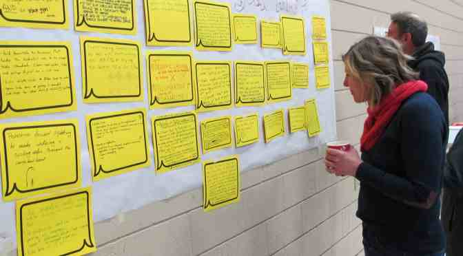 """<span class=""""entry-title-primary"""">Residents share ideas during city workshop</span> <span class=""""entry-subtitle"""">Alberta Avenue slated for upcoming neighbourhood renewal</span>"""