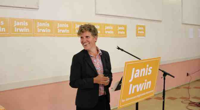 "<span class=""entry-title-primary"">Janis Irwin seeks NDP nomination for election</span> <span class=""entry-subtitle"">Parkdale resident inspired by the legacy of Brian Mason</span>"
