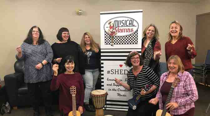 Musical Mamas support the creation of music