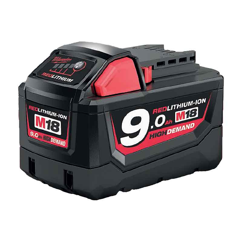 Milwaukee 18V High Demand 9Ah Battery Reviews