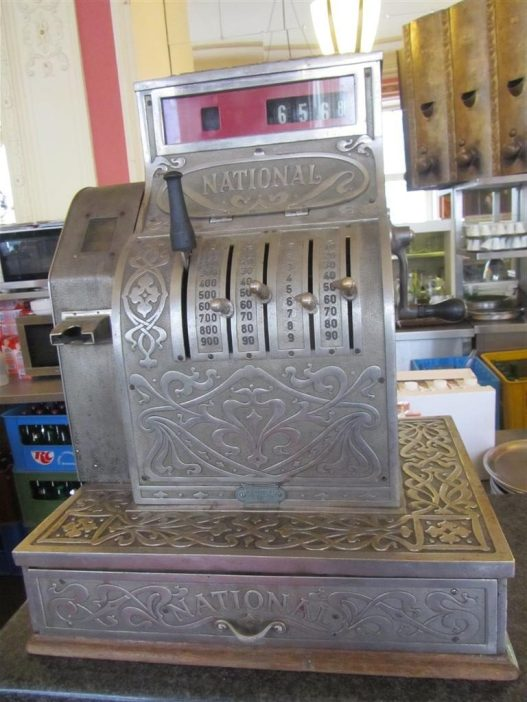 Cafe Louvre Cash Register