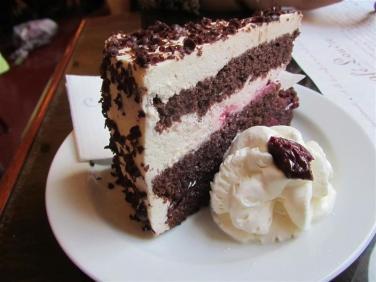 Cafe Louvre Black Forest Cake