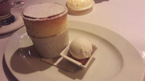 The Box Tree Passion Fruit Souffle