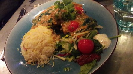 Gossip Kofta Veggie Curry