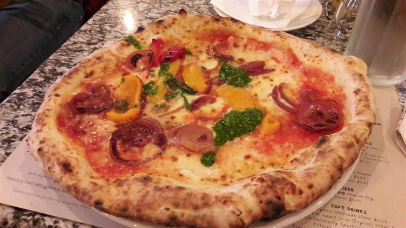 Franco Manca Veg Pizza