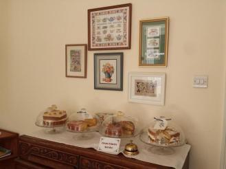 Castle Cottage Tearoom Cakes