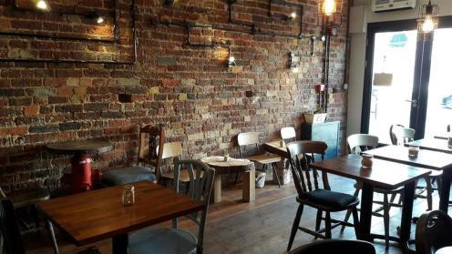 The Travel Cafe Interior