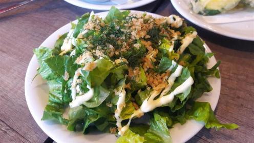 Gilly's Fry Bar Gem Chopped Salad