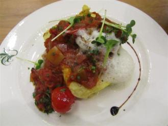 Ursprung Polenta with Ratatouille