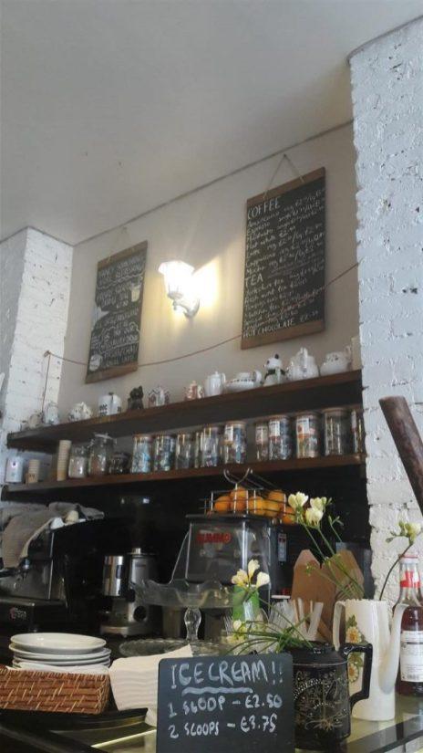 Oliver's Village Cafe Interior