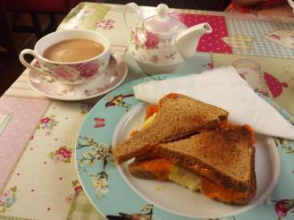 Safari Narrowboat Tearoom Toastie