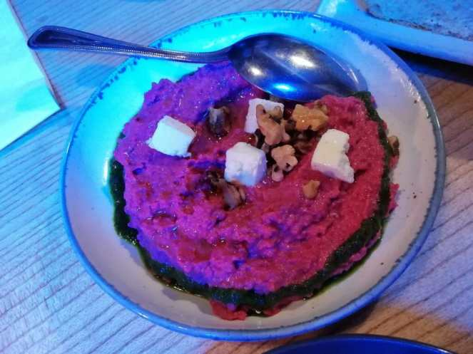 Brother Marcus Beetroot Hummus