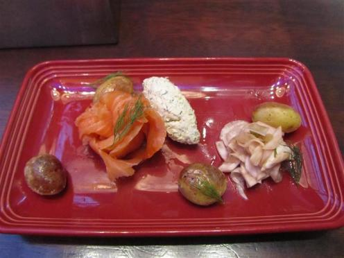 Royal Gastropub Smoked Salmon