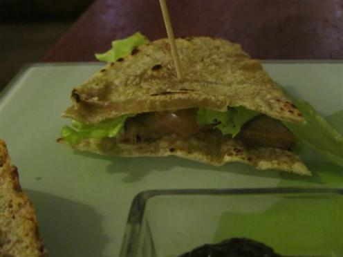 Amico Bio Vegetarian Club Sandwich