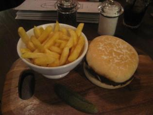 Belgo Burger and Frites
