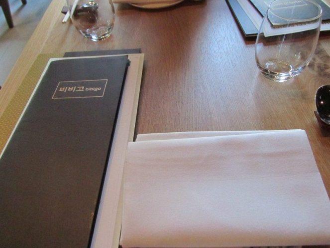 Bibigo Table Setting