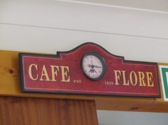 Bliss Lane Tea Room Interior