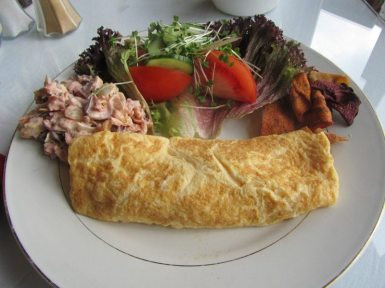 Bliss Lane Tea Room Omelette