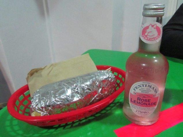 Bombay Burrito Food