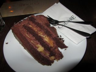 Cafe Colore Chocolate and Banana Cake
