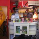 Cafe Irie interior