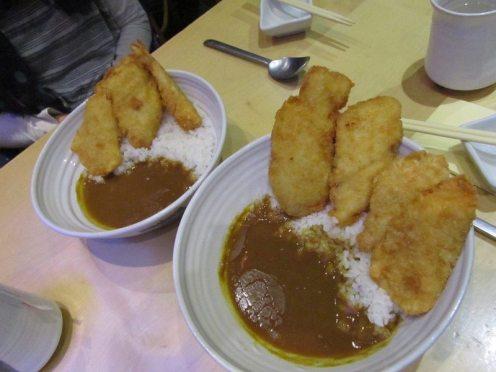 Feng Sushi Fish Katsu Curry
