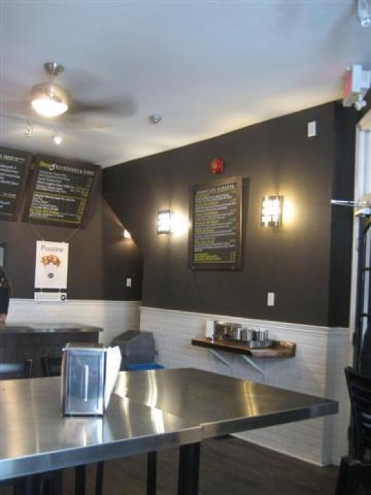 Gourmet Burger Co. Interior