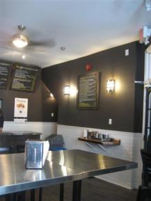 Gourmet Burger Co. Interior