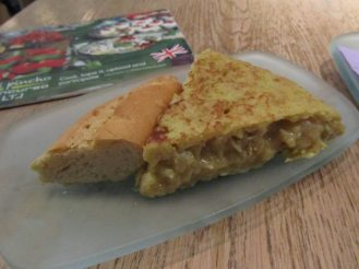 Lateral Spanish Tortilla