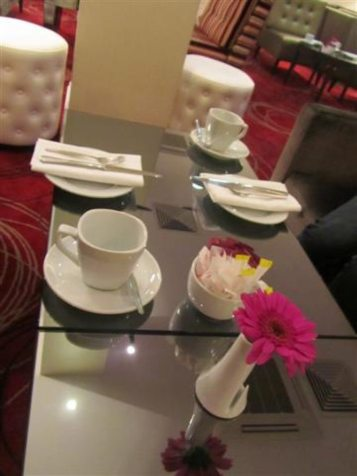 Mercure Brasserie Tea Setting