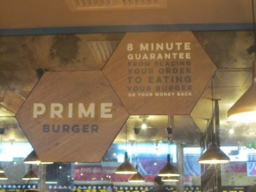 Prime Burger Motto