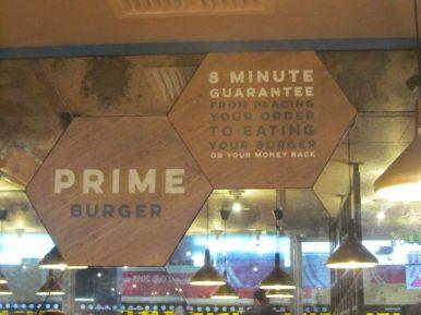 Prime Burger Motto