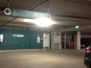 Broadmoor garage underground