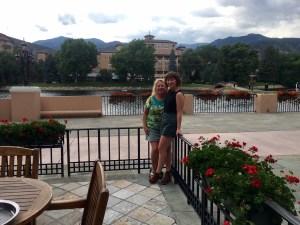 Sabrina and Gayle at the Broadmoor
