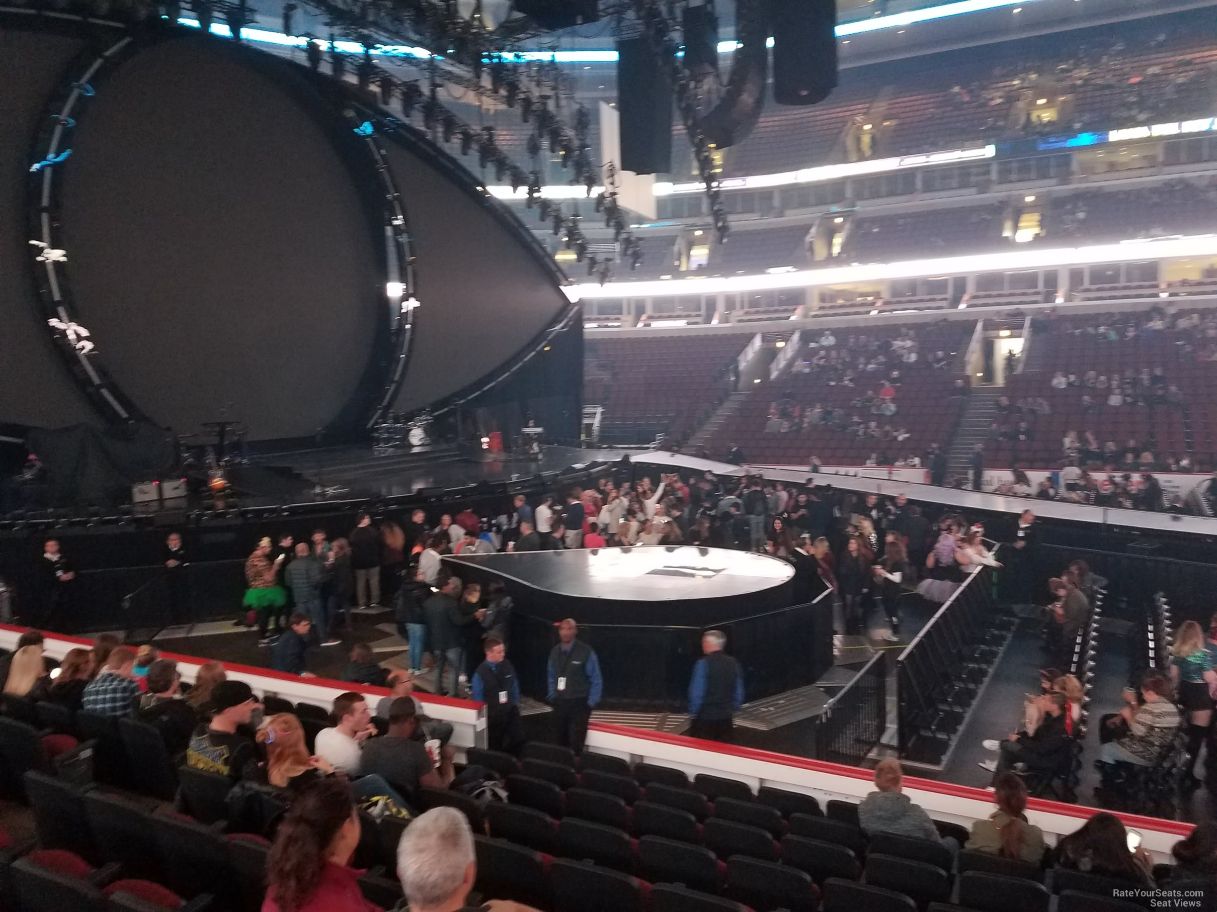 United Center Section 112 Concert Seating