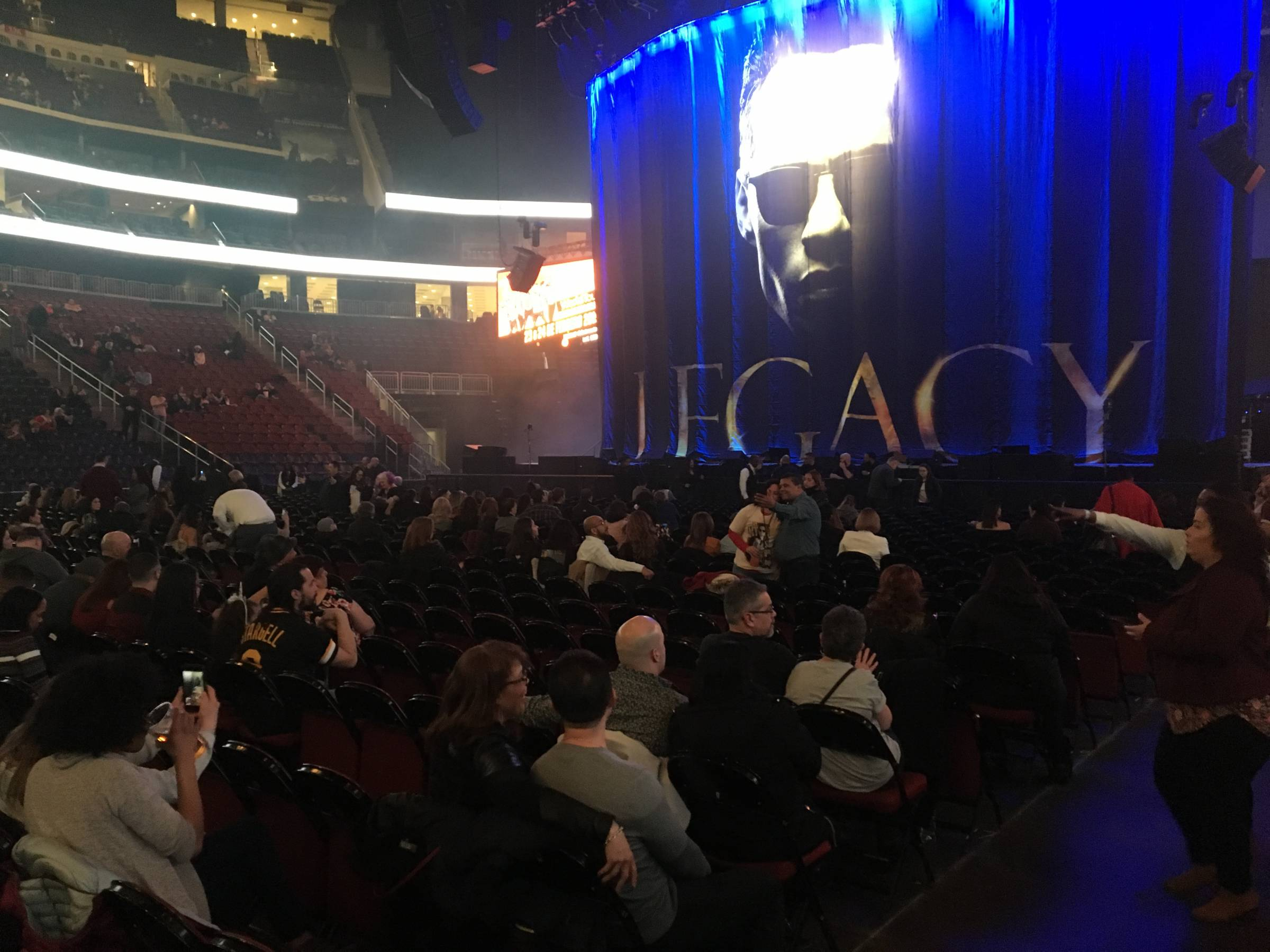 Prudential Center Floor E Concert Seating