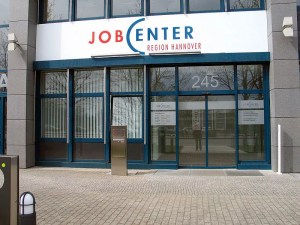 Jobcenter in Hannover. Foto: Bernd Schwabe/ wiki commons