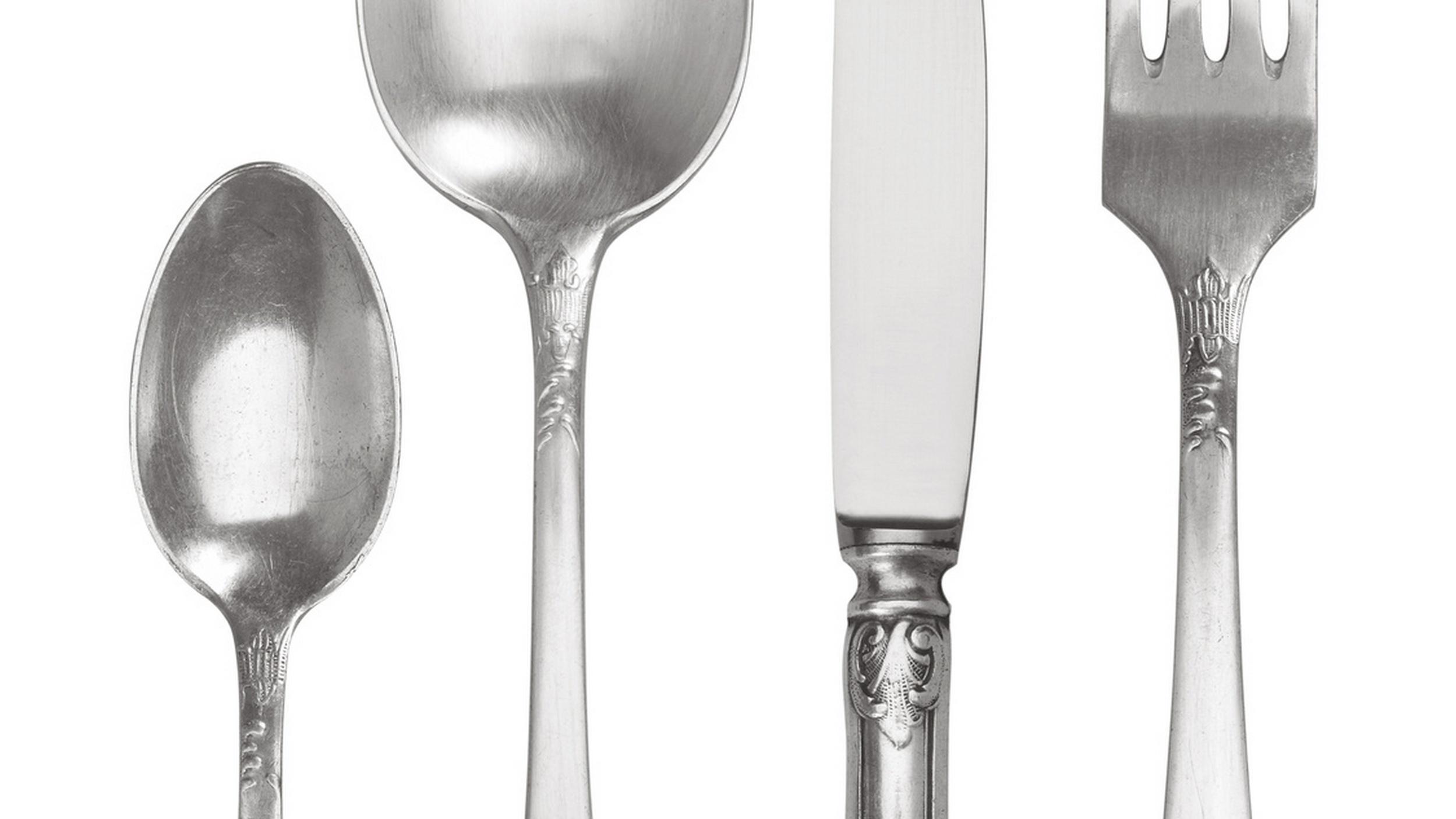 Alufolie Silber Silberbesteck Schnell Und Einfach Reinigen