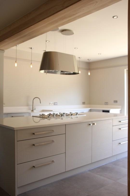 Modern, sleek kitchen
