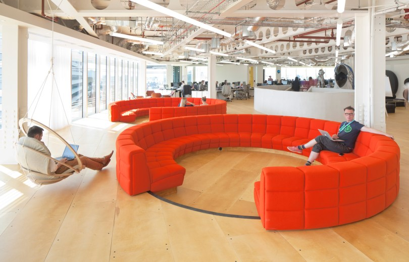Meeting/chill out space UKTV London