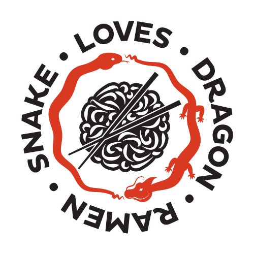 Snake Loves Dragon Ramen logo