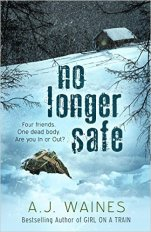 No Longer Safe by A. J. Waines