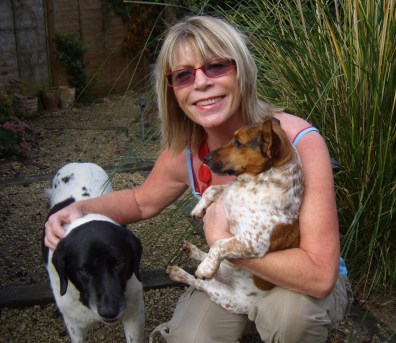 Sheryl and dogs 3