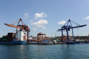 Bootsfahrt auf dem Bosporus nach Asien