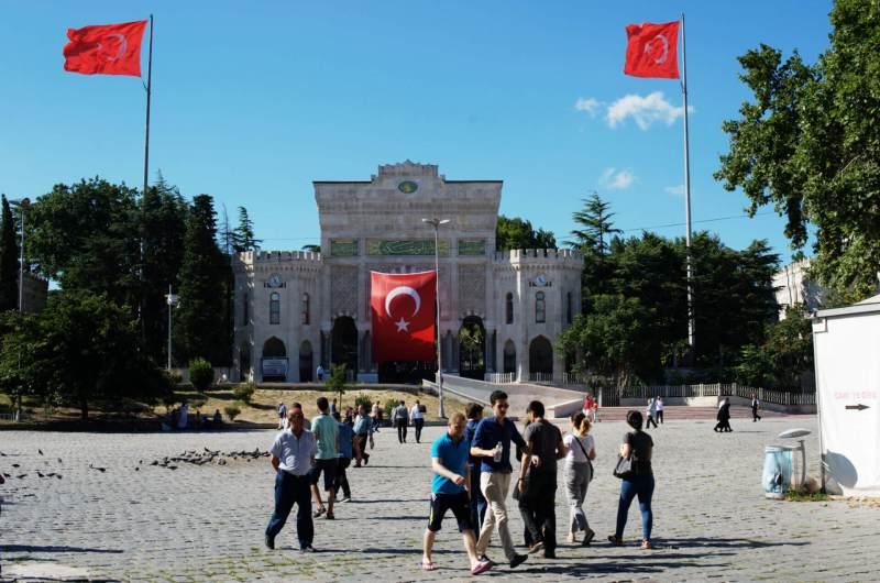Die Universität in Istanbul