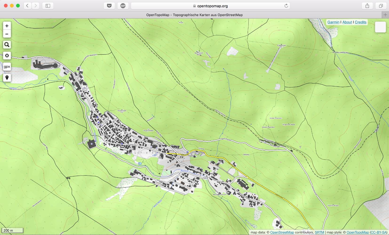 Karten, Pläne und Geotagging | Rathgeber Photos